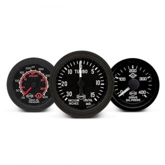ISSPRO® - Performax™ In-Dash Black Gauges