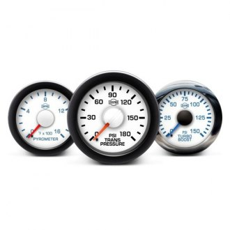 ISSPRO® - Performax™ In-Dash White Gauges