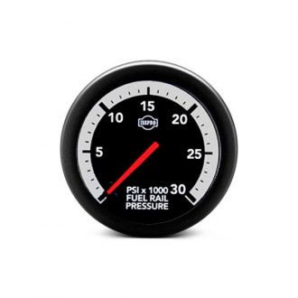 ISSPRO® - Ev2™ Direct Fit In-Dash White/Gray Gauges