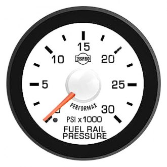 ISSPRO® - Performax™ Direct Fit In-Dash White Gauges