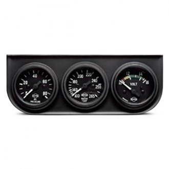 ISSPRO® - Classic Oil Pressure/Water Temperature/Voltmeter Gauge Panel