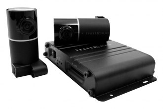 iTronics® - iPass Black 2 Channel Dashboard Camera 720p Full HD
