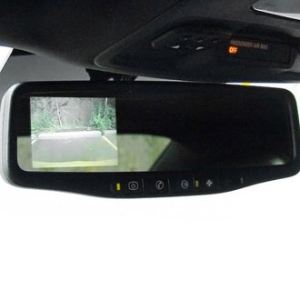 "IVS® - Havoc Rear View Mirror with Built-in 3.5"" Monitor and Tailgate Handle Mount Camera"