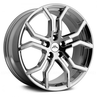 "IVS® - 20"" Havoc Wheels Bright Chrome Set"