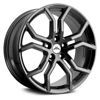 "IVS® - 20"" Havoc Wheels Black Chrome Set"