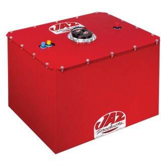 Jaz® - 34 Gal. Specialized Red Powder Coated Steel Fuel Cell with Plastic Bladder