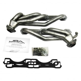 "JBA® - Cat4ward™ 1-1/2"" Natural Stainless Steel Shorty Headers"