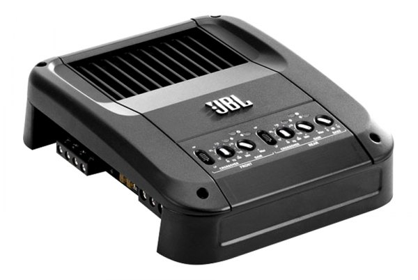 JBL® - GTO Series Class A/B 4-Channel 640W Amplifier