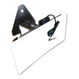 JcrOffroad® - License Plate Relocation Bracket Spare Tire Mount