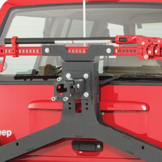 JcrOffroad® - Adventure Tire Carrier Hi-Lift Mount