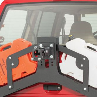 JcrOffroad® - Adventure Tire Carrier Rotopax Mount