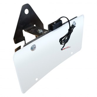 JcrOffroad® - Spare Tire License Plate Relocation Bracket