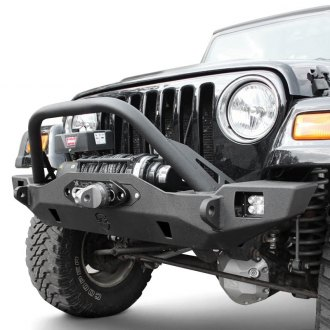 JcrOffroad® - Crusader Mid Width Front Winch HD Bumper with Pre-Runner Guard