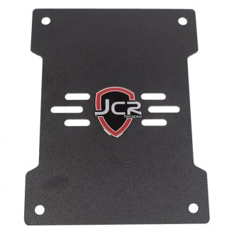 JcrOffroad® - Black Powder Coat Trailgate Plate