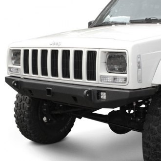 "JcrOffroad® - Crusader Full Width Front HD Bumper with 2"" Receiver Hitch"