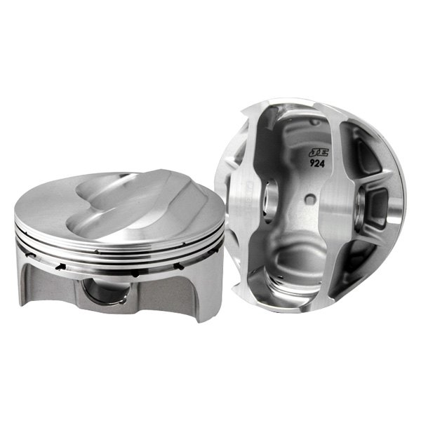JE Pistons® - 400 FSR Series Hollow Dome Gas Ported Pistons