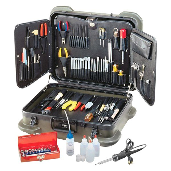 Electronic Hand Tools : Jensen tools jtk r electronic technicians service kit