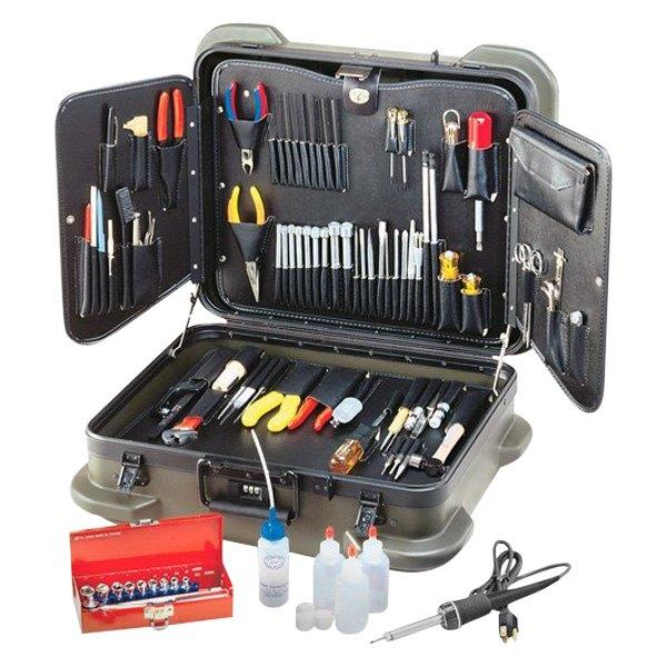 Electronic Tool Kits : Jensen tools jtk r electronic technicians service kit