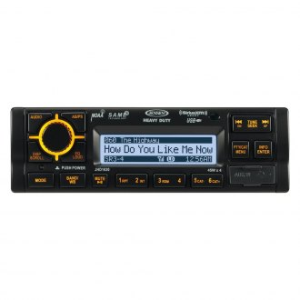 Jensen® - Single DIN Heavy Duty AM/FM/WB/iPod/iPhone/SiriusXM Stereo Receiver