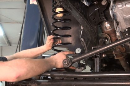 JKS Manufacturing® Front Bump Stop and Coil Spring Installation (Full HD)