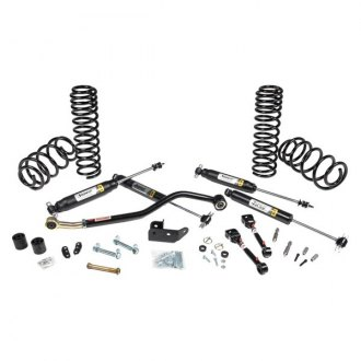 "JKS Manufacturing® - 2"" x 2"" JSPEC™ Front and Rear Suspension Lift Kit"