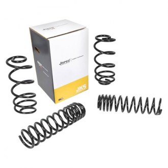 "JKS Manufacturing® - 3"" x 3"" JSPEC™ Front and Rear Lifted Coil Spring Kit"