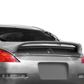 2008 Nissan 350z Spoilers Custom Factory Lip Wing Spoilers