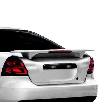 JKS® - Custom Style Fiberglass Rear High Wing with Light