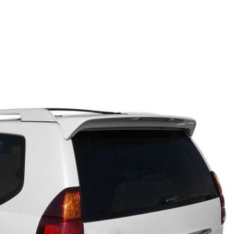 JKS® - Factory Style Fiberglass Rear Roof Spoiler with Light
