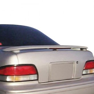 JKS® - Factory Style Fiberglass Rear Wing Spoiler with Light