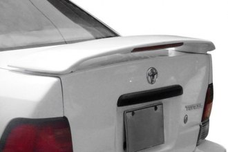 JKS® - Custom Style Fiberglass Rear Spoiler with Light