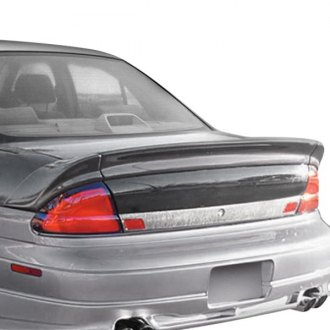 JKS® - Flush Mount Custom Style Fiberglass Rear Spoiler
