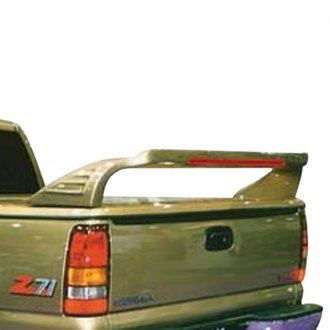 JKS® - ThunderTail™ Custom Style Fiberglass Truck Spoiler with Light (Painted)