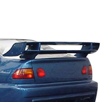 "JKS® - 57"" Mach III Custom Style Rear Spoiler with Light (Painted)"
