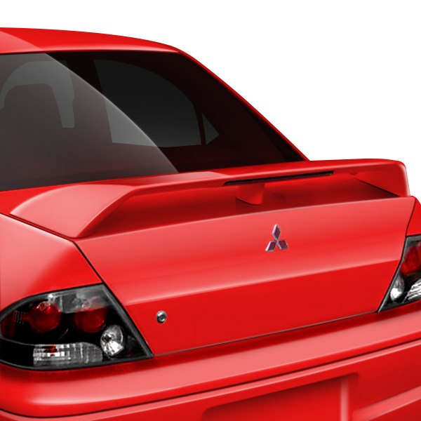 JKS® - Factory Style Fiberglass Rear Spoiler with Light
