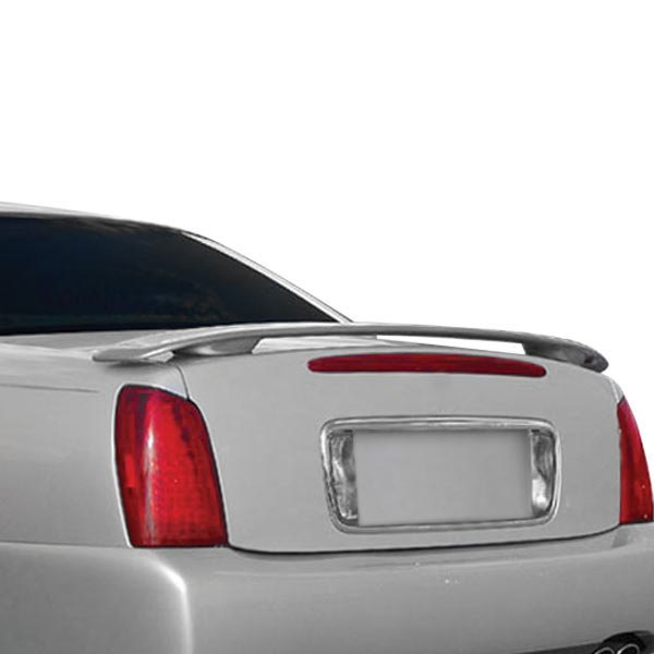 JKS® - Custom Style. Fiberglass Rear Spoiler (Painted)