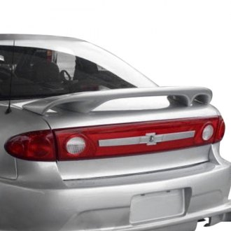 JKS® - Custom Style Fiberglass Rear High Wing Spoiler