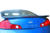 JKS® - Flush Mount Factory Style Rear Wing Spoiler with Light (Painted)