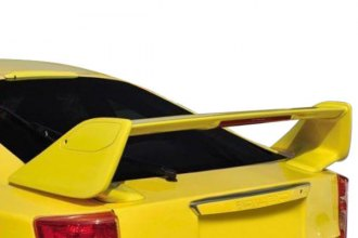 JKS® - Factory Style Rear High Wing Spoiler with Light