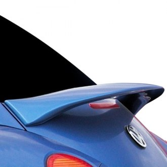 JKS® - Factory Style Fiberglass Rear High Wing with Light