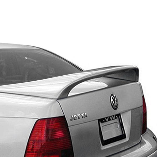 JKS® - Custom Style Rear High Wing Spoiler with Light (Unpainted)