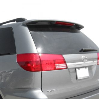JKS® - Factory Style Rear Roof Spoiler with Light