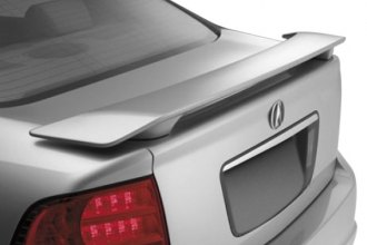 JKS® 47429 - Factory Rear Spoiler (Unpainted)