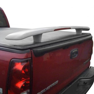 JKS® - Low Profile Truck Custom Style Truck Spoiler with Light (Painted)