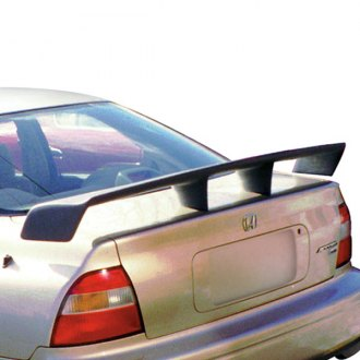 JKS® - Grand Touring Wing Custom Style Fiberglass Rear Spoiler (Painted)