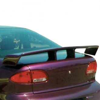 JKS® 83204 - Grand Touring Wing Factory Rear Spoiler (Painted)