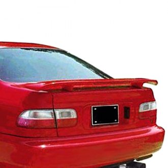 JKS® - Multi Fit Factory Style Fiberglass Rear Spoiler with Light (Painted)