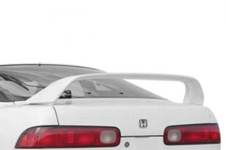 JKS® 89222 - Factory Style Rear Spoiler with Light (Unpainted)