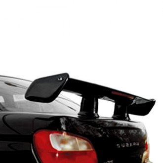 JKS® - Apache™ Custom Style Fiberglass Rear Spoiler with Light (Painted)