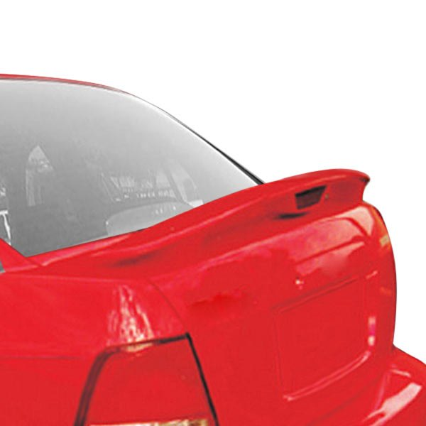 JKS® - Factory Style. Rear Spoiler with Light (Unpainted)